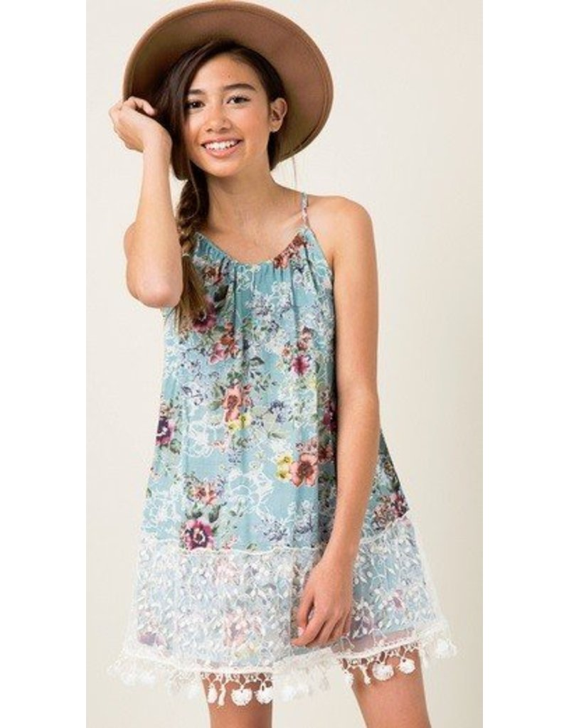 Hayden Los Angeles Floral Tank Dress