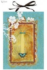 Papaya Art Panel Print