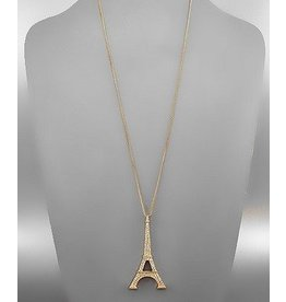 Golden Stella Eiffel Tower N/L