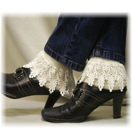Catherine Cole Studio Lace Trim Socks