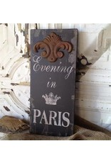 Peacock Park Design Evening in Paris Sign