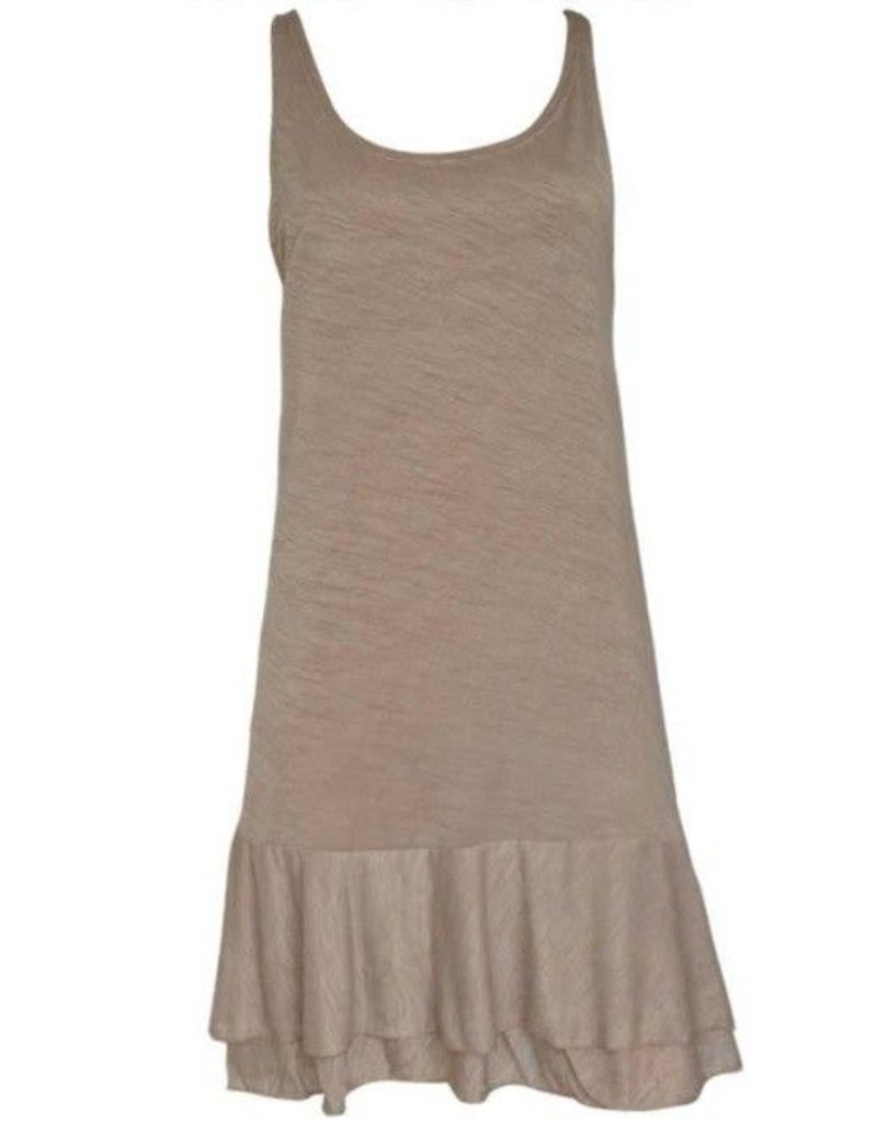 Pretty Angel Slip Dress Layered Bottom