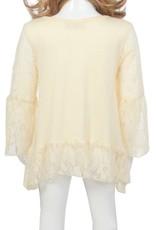 SassyBling Viscose Jersey & Lace Tunic