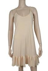 Pretty Angel Slip Dress Ruffled Bottom