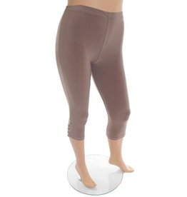 Bottom Button Legging Taupe