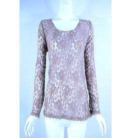 Lady Noiz Long Slv Lace Top