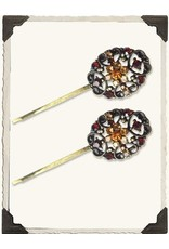 Victorian Trading Co Filigree Bobbies (Pair)  Autumn