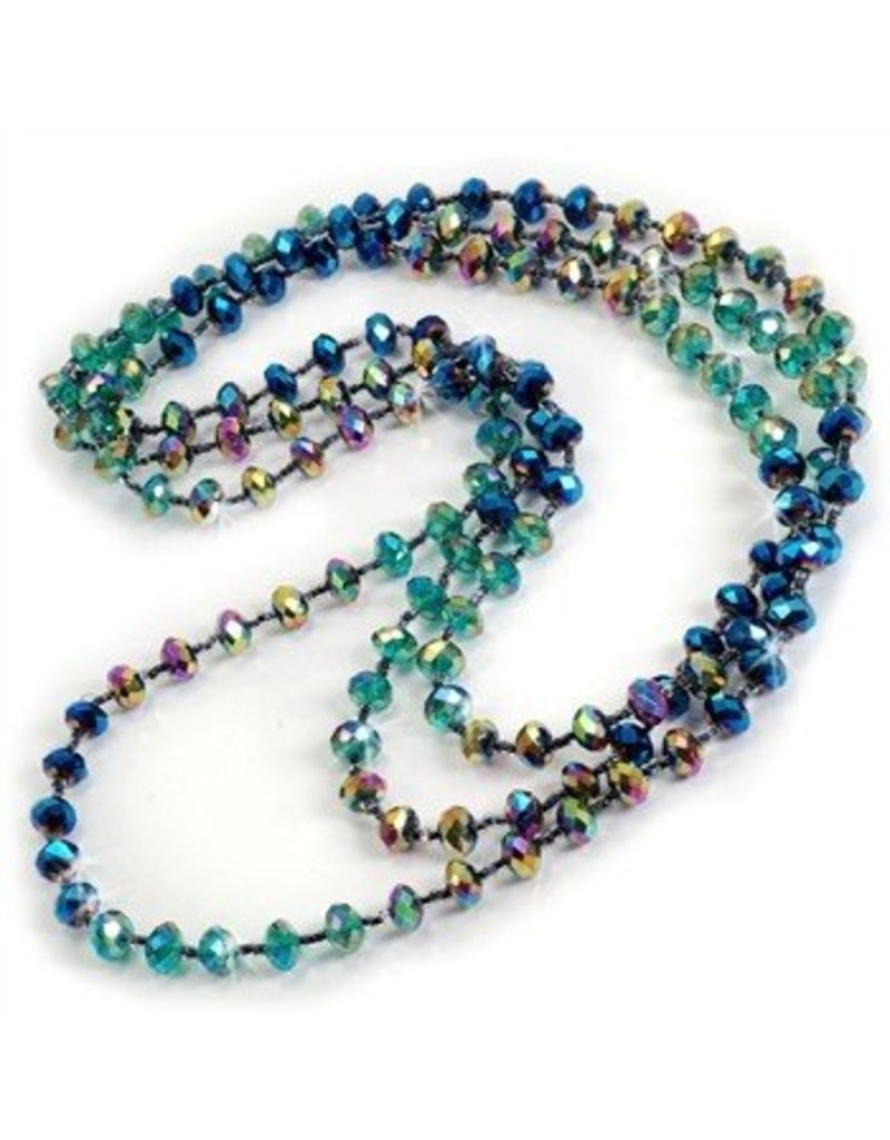Sweet Romance Crystal Long Beads