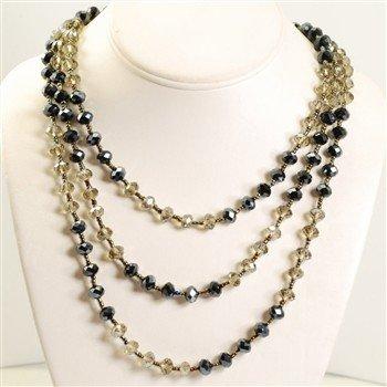 Sweet Romance Crystal Long Beads