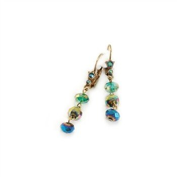Sweet Romance Crystal Drop Bead Earrings