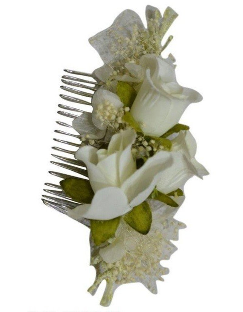 Pretty Angel Multi Flower Hair Comb