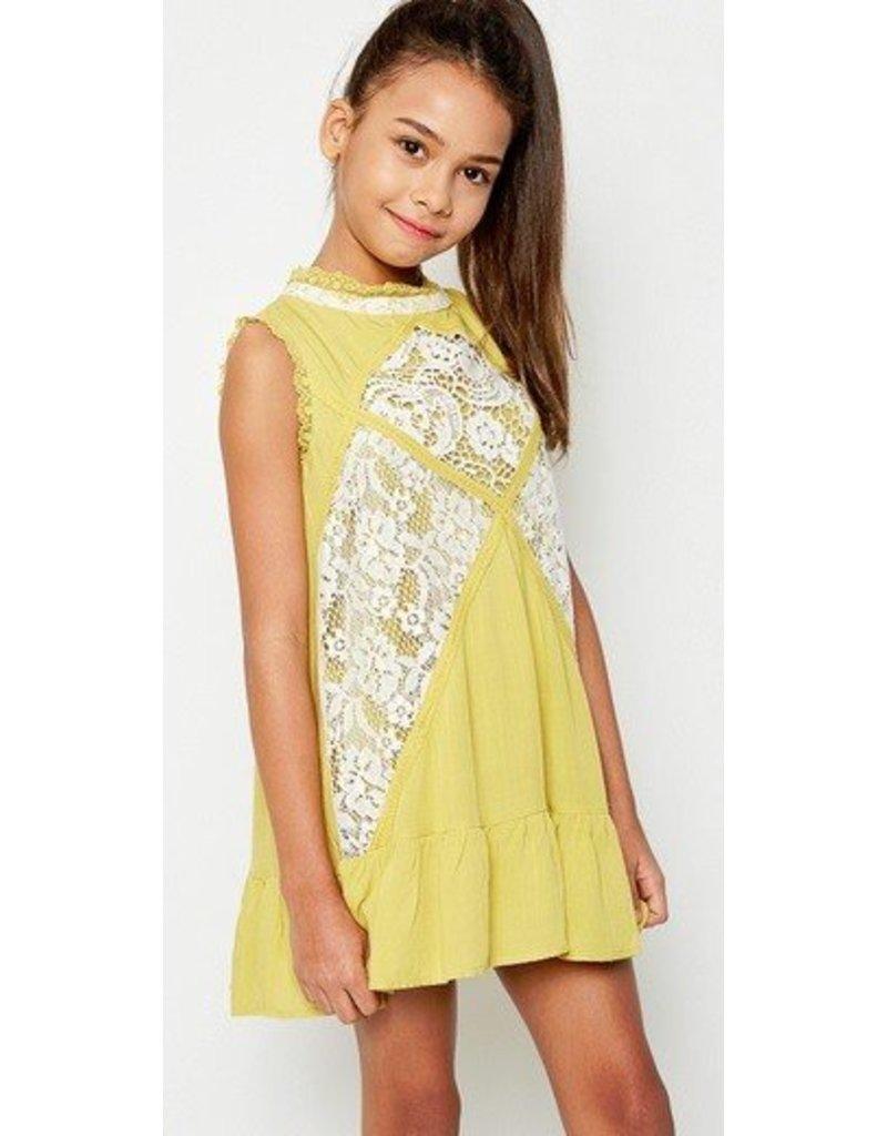 Hayden Los Angeles Lace Mock Dress