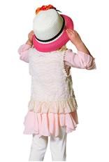 SassyBling Lace Vest w Fringe Trim Detail