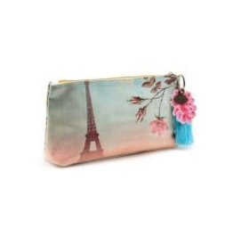 Papaya Accessory Pouch Eiffel Tower Small