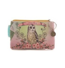 Papaya Coin Purse Owl Dreamer