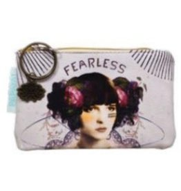 Papaya Coin Purse Fearless