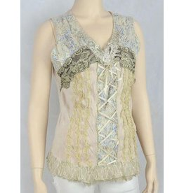 Pretty Angel Bustier Lace Tank Top