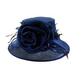 Something Special LA Medium Brim Crushable Shiny Hat Royal