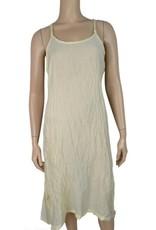 Pretty Angel Crinkle Slip Dress Cream