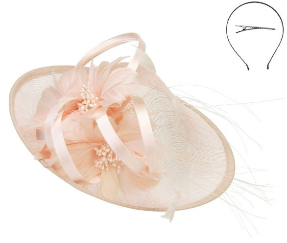 Something Special LA Cone Center Disk Fascinator Pink