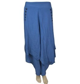 Pretty Angel Multi Layer Gaucho Blue