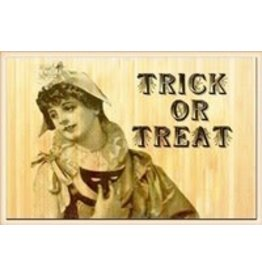 Peacock Park Design Trick or Treat Bamboo Mat 3x5