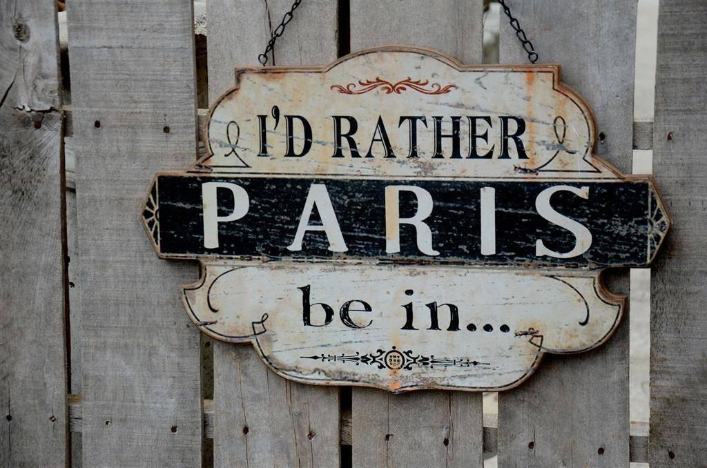 Peacock Park Design Rather Be In Paris Plaque