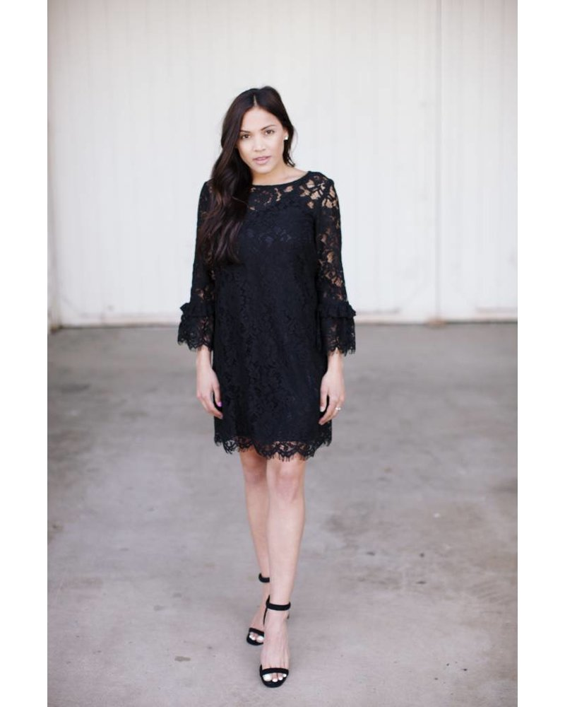 Livy Black Dress