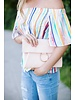 Macey Pink Clutch