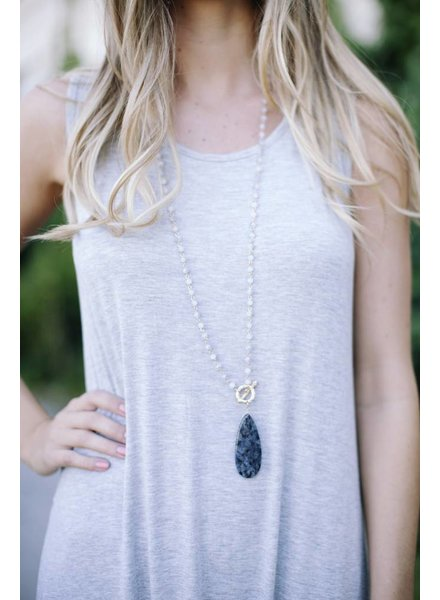 Sayla Grey Necklace