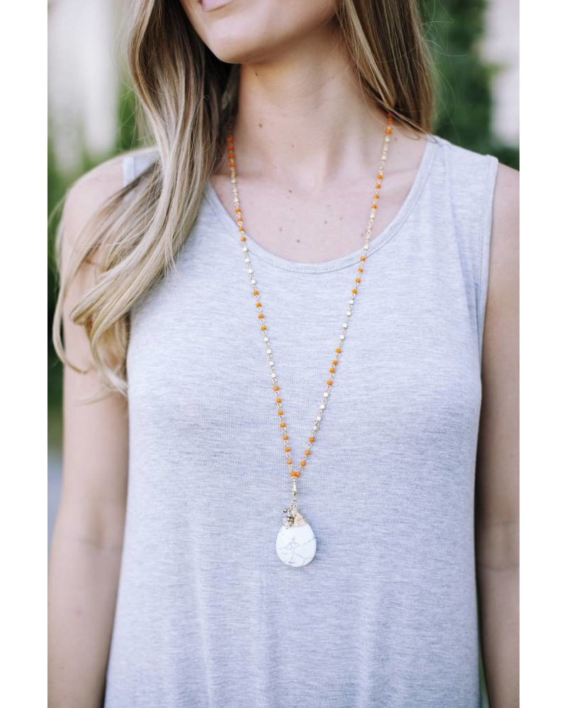 Grantly Marble Necklace