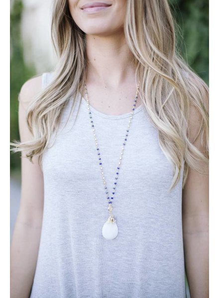 Grantly White Necklace