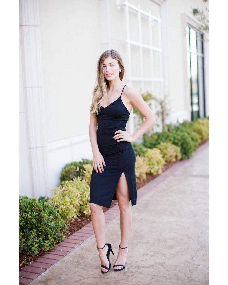 Flynn Black Dress
