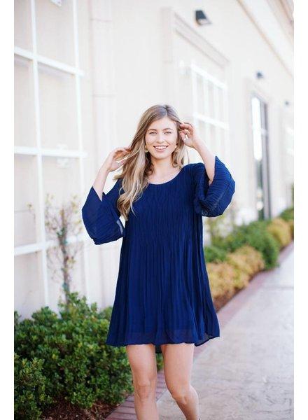 Nanette Navy Dress