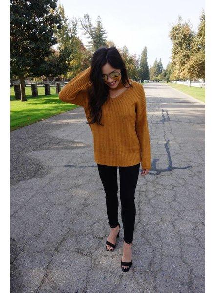 Camilla Mustard Sweater