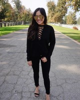 Brooke Black Sweater