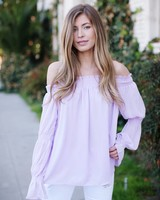 Brinly Lavender Blouse