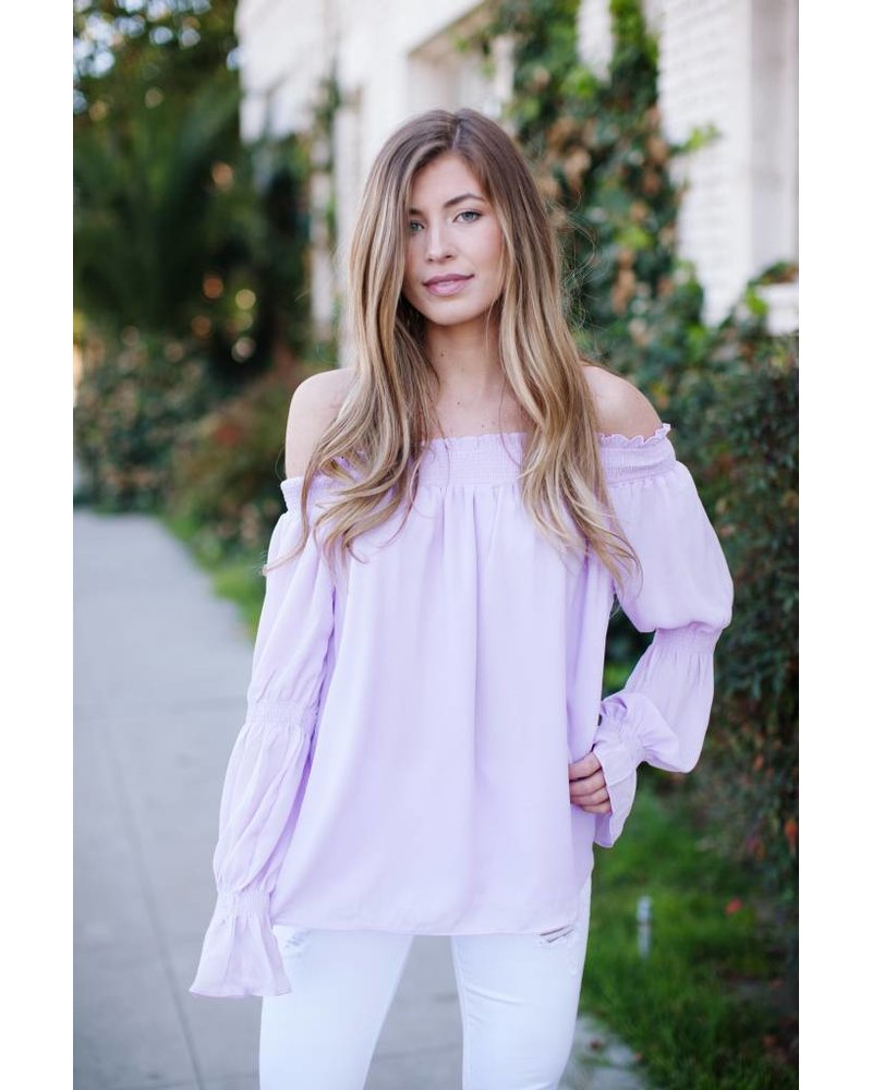 Brinly Lavender Blouse