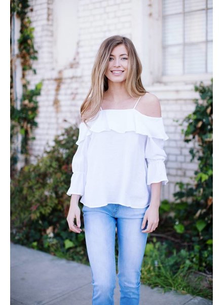 Lotus White Blouse