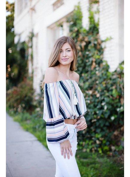 Goulding Stripe Blouse