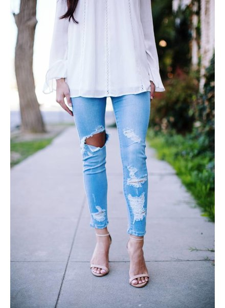 Journee Distressed Denim