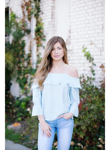 Lotus Blue Blouse