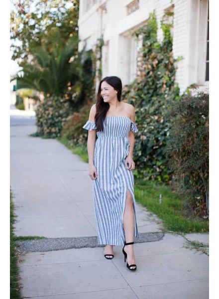 Shayleigh Stripe Maxi