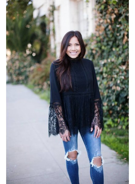 Jessi Black Blouse
