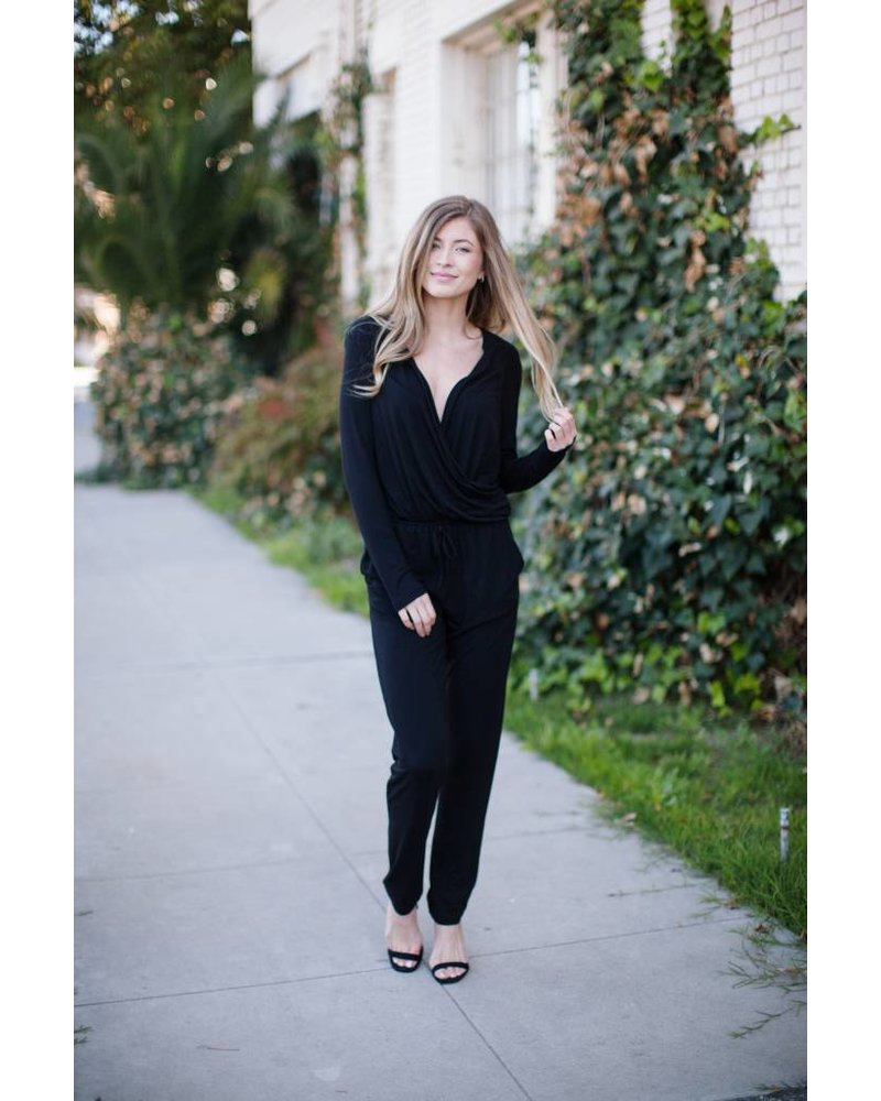 Binx Black Jumpsuit
