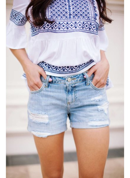 Coving Distressed Shorts