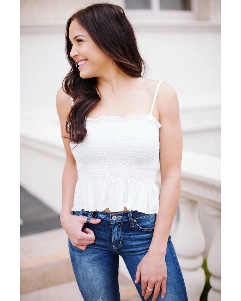 Livia White Top