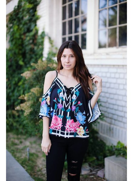Fiesta Floral Blouse