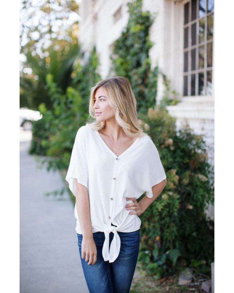 Shell Beach White Knit