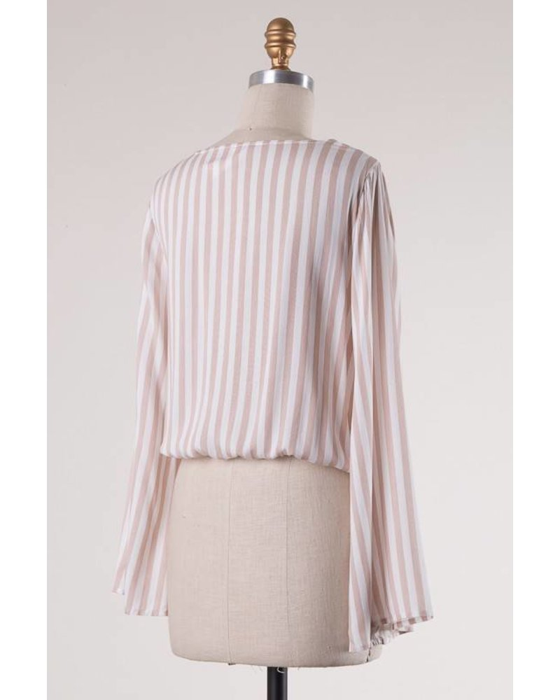 Tonya Stripe Blouse